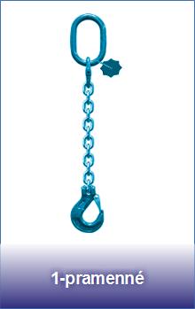 1-pramenné řetězové úvazky třídy 12