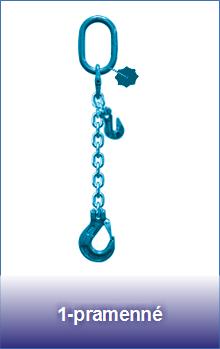 1-pramenné řetězové zkracovací úvazky třídy 12