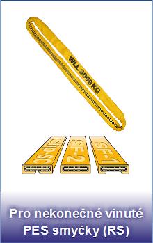 Polyuretanové ochranné návleky Secutex Clip-SC pro nekonečné PES smyčky RS
