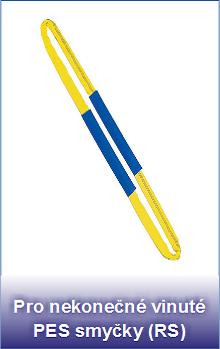 PVC návleky pro nekonečné PES smyčky RS