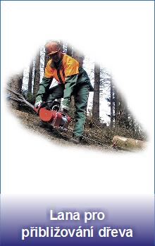 Lana pro přibližování dřeva