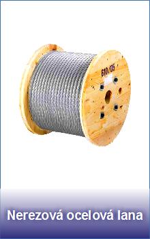 Nerezová ocelová lana