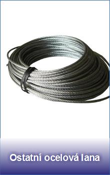 Ostatní ocelová lana
