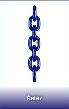 Vysokopevnostní řetěz třídy 10