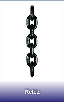 Vysokopevnostní řetěz třídy 8