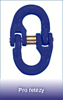 Řetězové spojky pro řetězy