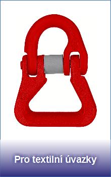 Řetězové spojky pro textilní úvazky