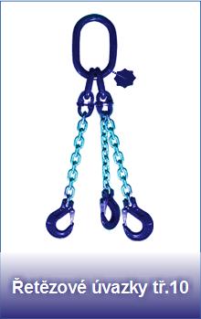 Řetězové úvazky pevnostní třídy 10