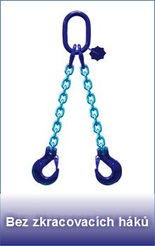 Řetězové úvazky třídy 10 bez zkracovacích háků