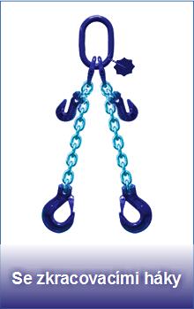 Řetězové úvazky třídy 10 se zkracovacími háky