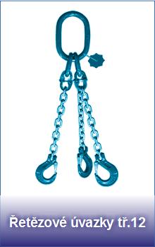 Řetězové úvazky pevnostní třídy 12