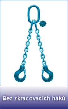 Řetězové úvazky třídy 12 bez zkracovacích háků
