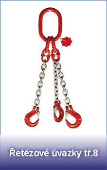 Řetězové úvazky pevnostní třídy 8