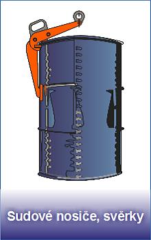 Sudové nosiče a svěrky