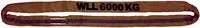 Jeřábová smyčka  RS 6t,2m, užitná délka