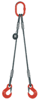 2-hák lanový průměr 14mm, délka 3,5m