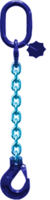 oko-hák řetězové průměr 8 mm, délka 1 m, třída 10 GAPA