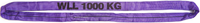 Jeřábová smyčka  RS 1t,3,5m GAPA, užitná délka
