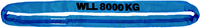 Jeřábová smyčka  RS 8t,4m, užitná délka