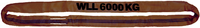 Jeřábová smyčka RS 6t,4m GAPA, užitná délka