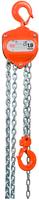 Řetězový kladkostroj X-CH10, nosnost 1 t, délka zdvihu 3m