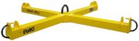 Jeřábová traverza křížová na vaky 1500 kg/ 1x1m