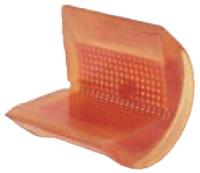 Rohová pevná ochrana SWH pro textilní úvazky 125mm standard, bez magnetů