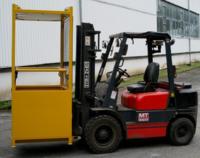 Závěsná revizní klec ZKRU 300/1,2x0,8, 300kg