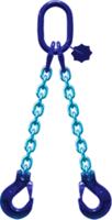 2-hák řetězový průměr 6 mm, délka 6 m, třída 10 GAPA