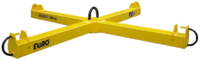 Jeřábová traverza křížová na vaky 1200 kg/ 1x1m