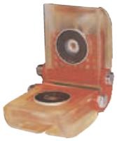 Rohová kloubová ochrana SKB-60C pro textilní úvazky 60mm, oboustranné magnety