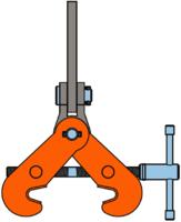 Šroubovací svěrka SVSUW 5 t, 150-560 mm