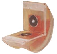 Rohová pevná ochrana SWH pro textilní úvazky 150mm, oboustranné magnety