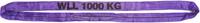 Jeřábová smyčka  RS 1t,2,5m GAPA, užitná délka