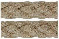 Konopné lano pletené 10mm
