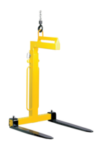 Jeřábová vidlice s ručním vyvažovacím systémem TIGRIP® 1t, výška 1100 - 1600 mm