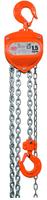 Řetězový kladkostroj X-CH15, nosnost 1,5 t, délka zdvihu 5 m