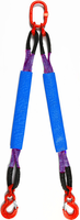 2-hák textilní HB, nosnost 1t, délka 4m, GAPA
