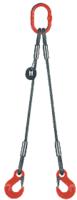 2-hák lanový průměr 10mm, délka 1m