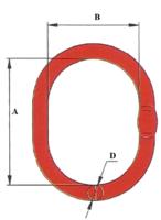 Závěsné oko lanové M13, nosnost 1,47 t GAPA
