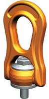 Šroubovací otočný a sklopný bod PLBW M12x18,2, nosnost 1 t, s čipem NFC