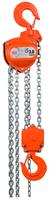 Řetězový kladkostroj X-CH30, nosnost 3 t, délka zdvihu 3 m