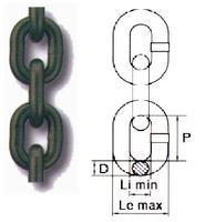 Řetěz metrážní, průměr 10 mm, třída 8