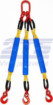 3-hák textilní HB, nosnost 3t, délka 1m, GAPA