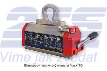 Permanentní břemenový magnet MaxX TG 300, nosnost 300 kg - 1