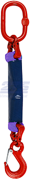 Oko-hák textilní RS, nosnost 1t, délka 4,5m, GAPA - 1