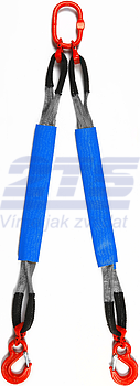 2-hák textilní HB, nosnost 4t, délka 5m, GAPA