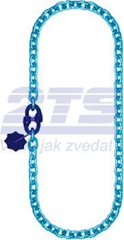 Řetěz nekonečný průměr 6 mm, užitná délka 1 m, třída 10 GAPA