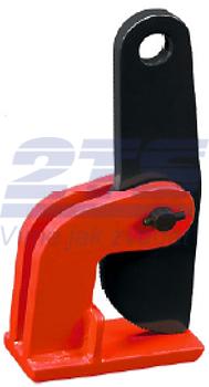 Horizontální svěrka CHHK 4 t, 0-100 mm, výklopná hlava - 1