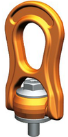 Šroubovací otočný a sklopný bod PLBW M24x36,4, nosnost 4 t, s čipem NFC - 1/5